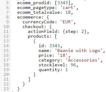 demoshop-datalayer-checkout