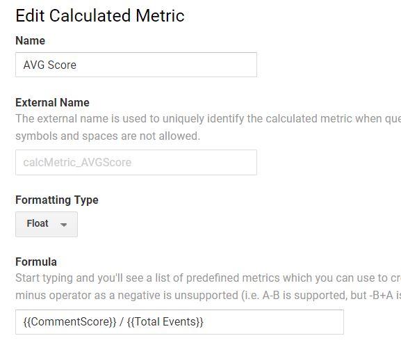 report sentimentanalyse googleanalytics calcmetrics