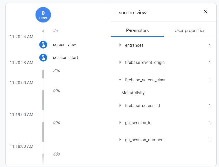 firebase-debugview-screen_view_events_class