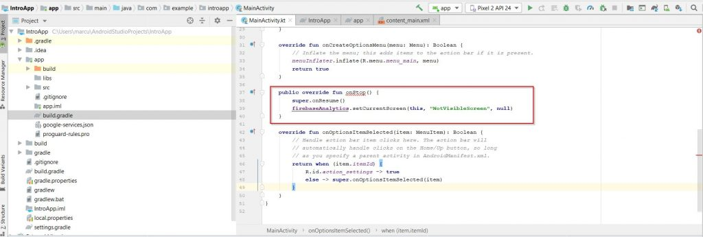 firebase-debugview-screen_view_events_name_onstop