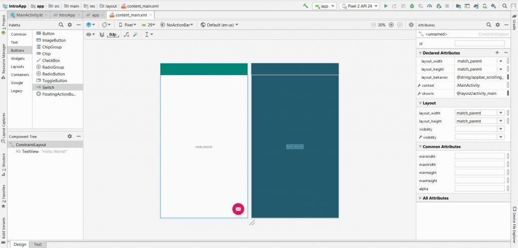 android-studio-content_main_xml_designview